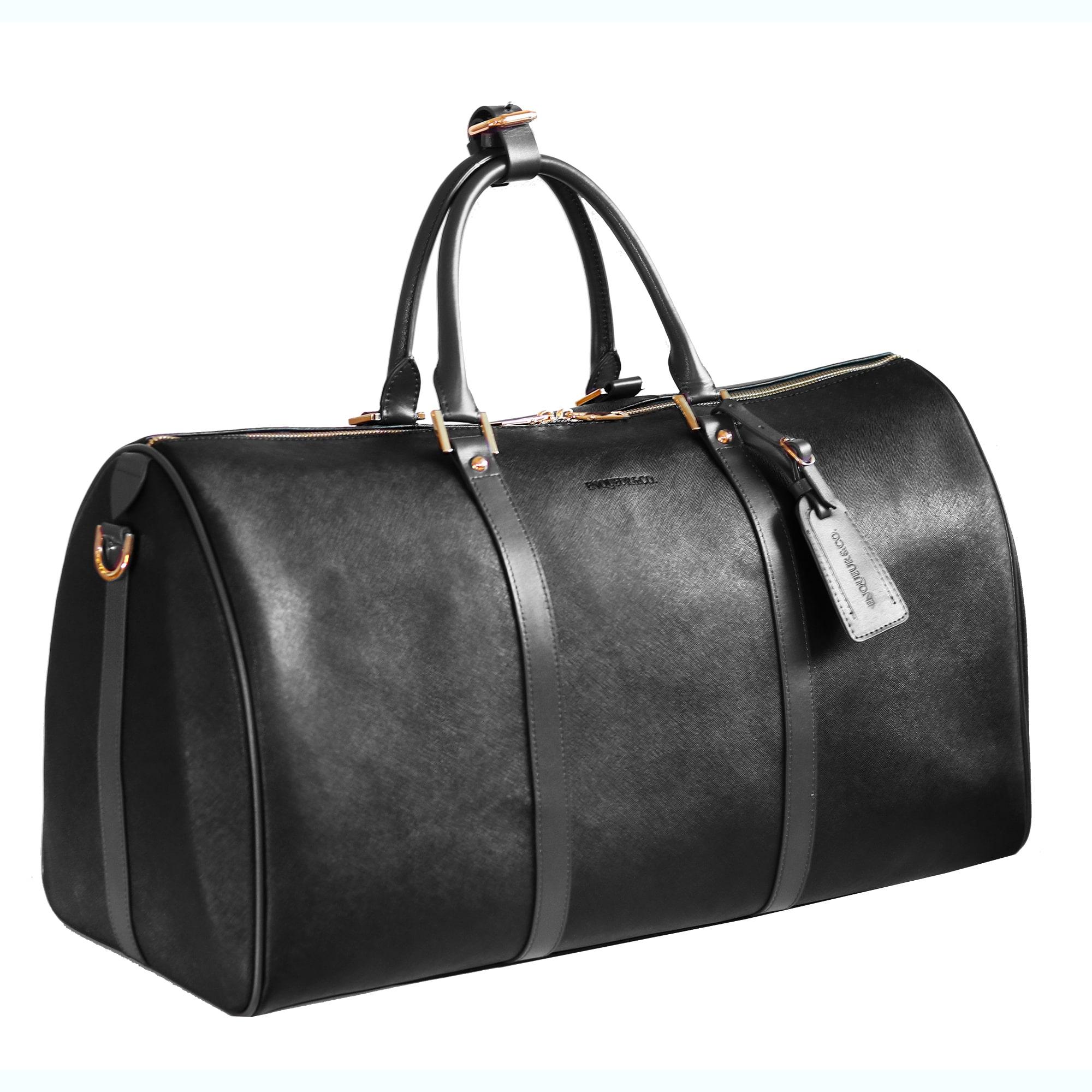 Long Island Weekender - black (Outlet Bag) | ENQUEUR & CO.